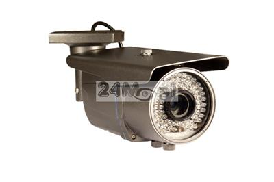 Zewnętrzna kamera FULL HD 4 w 1 - obsługa standardów AHD, CVI, TVI i CVBS, 72 diody podczerwieni 940 nm [NIE żarzš się], regulowany obiektyw 2,8 - 12 mm