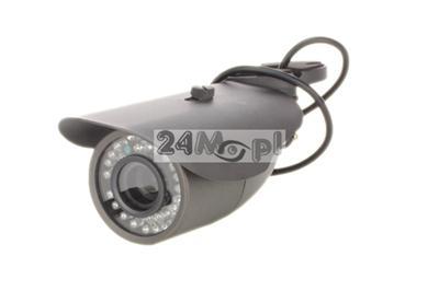 Kamera 4 w 1 - AHD / CVI / TVI / analogowa z wygodnym przełšcznikiem trybu pracy na joysticku, przetwornik SONY FULL HD, 36 diod IR, obiektyw 2,8 - 12 mm