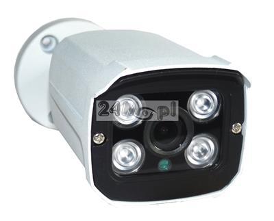Zewnętrzna kamera FULL HD 4 w 1 - kompatybilna z systemami AHD, CVI, TVI i CVBS, nowoczesna podczerwień ARRAY LED, szeroki kšt widzenia, podczerwień ARRAY LED