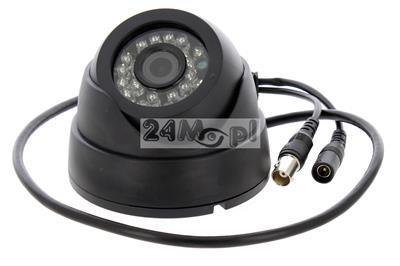 Wewnętrzna kamera 4 w 1 - pełna kompatybilnoœc ze standardami AHD, CVI, TVI i analogowym [CVBS] - przetwornik SONY EXMOR, rozdzielczoœć 1080P [FULL HD], 24 diody IR, szeroki kšt widzenia