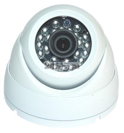 Zewnętrzna kamera do monitoringu wizyjnego - 4 w 1 (AHD, CVI, TVI i CVBS), szeroki kšt widzenia, 24 diody podczerwieni, norma szczelnoœci IP66