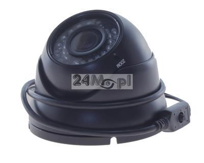 4 w 1 - kamera AHD / CVI / TVI / analog, jakoœć FULL HD, przetwornik SONY EXMOR, obiektyw regulowany 2,8 - 12 mm, 36 diod IR