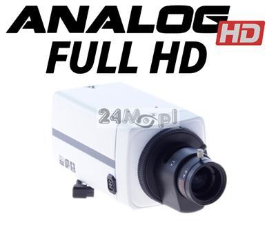 Wewnętrzna, kompaktowa kamera AHD FULL HD - obiektyw 3,5 - 8 mm z funkcjš AUTO-IRIS, jakoœć SONY, MENU ekranowe
