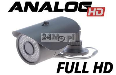 Zewnętrzna kamera AHD 2.0 MPX [FULL HD] - przetwornik SONY EXMOR, obiektyw 2,8 - 12 mm, 72 diody podczerwieni