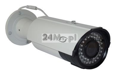 Zewnętrzna kamera kompaktowa AHD FULL HD - przetwornik SONY, procesor NEXTCHIP, regulowany obiektywe 2,8 - 12 mm, 42 diody podczerwieni, IP66