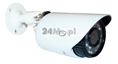 Zewnętrzna MINI kamera AHD - 24 zintegrowane diody podczerwieni, szeroki kšt widzenia [ok. 70 stopni], metalowa, hermetyczna obudowa [IP66]