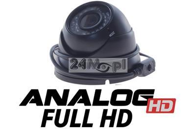 Zewnętrzna kamera Analog HD w obudowie kopułkowej - jakoœć FULL HD, markowy przetwornik SONY EXMOR, regulowany obiektyw, 36 diod IR