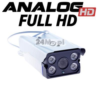 Kamera AHD FULL HD z diodami ARRAY LED - doskonałej jakoœci monitoring w dzień i w nocy!