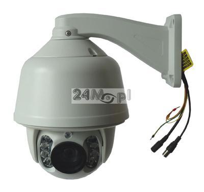 Zewnętrzna, szybkoobrotowa kamera AHD FULL HD oparta o markowe podzespoły SONY i NEXTCHIP, 20x ZOOM optyczny, ARRAY LED, zasięg IR - 100 metrów