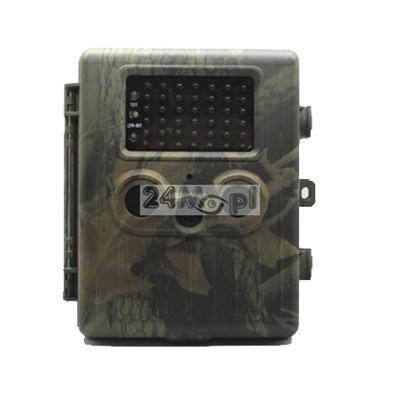Profesjonalna fotopułapka - przetwornik SONY 12 Mega Pixels Color CMOS, wbudowane 2 czujniki PIR, 42 diody IR, wysyłanie MMS i E-MAIL