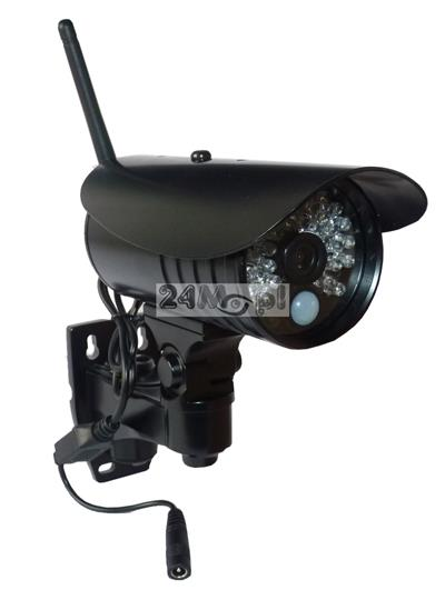 Zewnętrzna kamera IP HD, 36 diod podczerwieni, szeroki kšt widzenia - obsługa przez telefon / tablet [Android lub Apple iOS], polskojęzyczne MENU