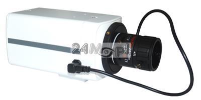 Wewnętrzna kamera kompaktowa 4 MPX - przetwornik SONY, regulowany obiektyw 3,5 - 8 mm z funkcjš AUTO-IRIS, idealne rozwišzanie do monitoringu sklepów, biur i magazynów