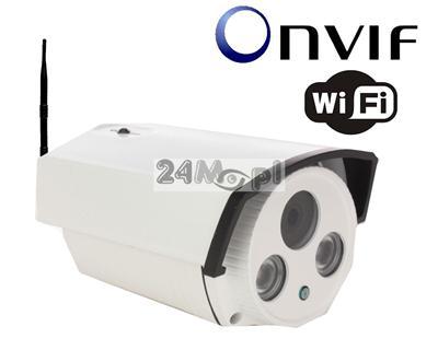 Zewnętrzna megapikselowa kamera IP WiFi - 1/3 Multi Megapiksel SONY, 2 diody ARRAY LED, obiektyw z funkcjš AUTO-IRIS