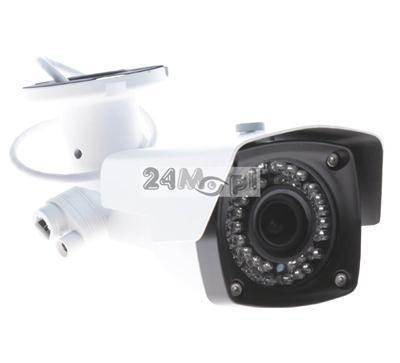 Zewnętrzna kamera IP o rozdzielczoœci 4 MPX - przetwornik SONY, obiektyw 2,8 - 12 mm, 42 diody IR, standard ONVIF, P2P (chmura)