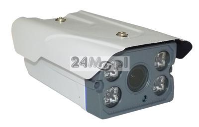 Zewnętrzna kamera IP 4 MPX z wbudowanym modułem PoE - przetwornik SONY, regulowany obiektyw 2,8 - 12 mm, standard ONVIF, funkcja wysyłania zdjęć na serwer FTP