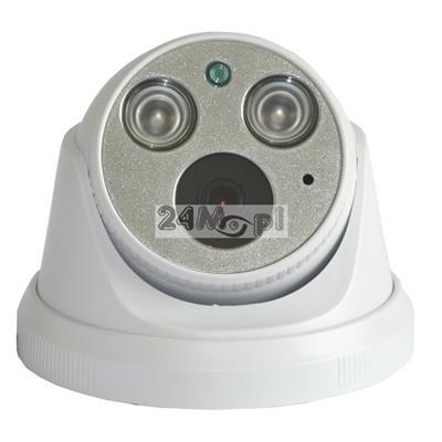 Wewnętrzna kamera IP 4 MPX z wbudowanym modułem PoE - przetwornik SONY, szeroki kšt widzenia, podczerwień ARRAY LED, standard ONVIF