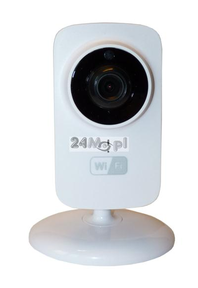 720P [HD] - wewnętrzna kamera IP WiFi, 10 diod IR, szeroki kšt widzenia, P2P (praca w chmurze), dostęp zdalny przez telefony i tablety