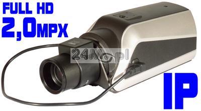 JAKOŒĆ FULL HD - MEGApikselowa kamera IP, wewnętrzna, rozdzielczoœć 1920x1080, ONVIF