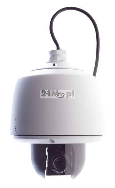 Obrotowa, zewnętrzna kamera IP FULL HD - standard ONVIF, ZOOM optyczny, solidne wykonanie