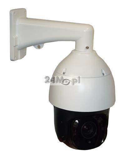 Zewnętrzna, szybkoobrotowa kamera IP FULL HD - przetwornik SONY EXMOR, 20x ZOOM optyczny, 16x ZOOM cyfrowy, standard ONVIF, SMART IR LED