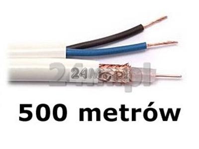 Kabel do tv przemysłowej - rolka 500m