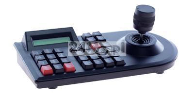 Klawiatura sterujšca do kamer obrotowych - obsługa protokołów PELCO_D i PELCO_P, tryb 3D, wyœwietlacz