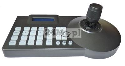 Klawiatura sterujšca do kamer PTZ AHD 1.3 MPX [HD] i 2.0 MPX [FULL HD], obsługa również kamer analogowych, kompatybilnoœć z protokołami PELCO_D i PELCO_P, tryb 3D, wyœwietlacz LCD