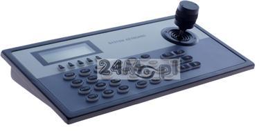 Klawiatura sterujšca 3D DUALNA - do kamer i rejestratorów IP z ONVIF oraz kamer i rejestratorów analogowych