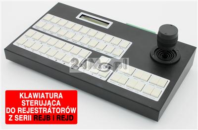 Profesjonalna klawiatura sterujšca do rejestratorów z serii B, D i kamer obrotowych