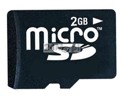 Karta SD micro o pojemnoœci 2GB do minirejestratorów