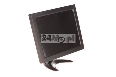 Profesjonalny monitor 10 do telewizji przemysłowej - porty BNC, VGA, HDMI, RCA, USB, idealne rozwišzanie do maszyn CNC i innych
