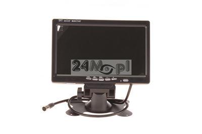 Kompaktowy, wysokiej klasy monitor 7 dedykowany do zastosowań mobilnych (autobusy, taksówki, œmieciarki)
