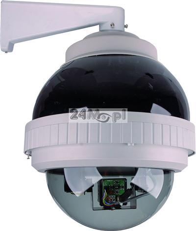 Kamera obrotowa PTZ dzień/noc, CCD SONY, 480TVL, ZOOM x264, diody IR, A-F