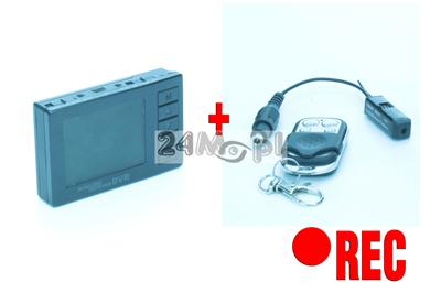 Zestaw szpiegowski - miniaturowa kamera bezprzewodowa z wyœwietlaczem LCD