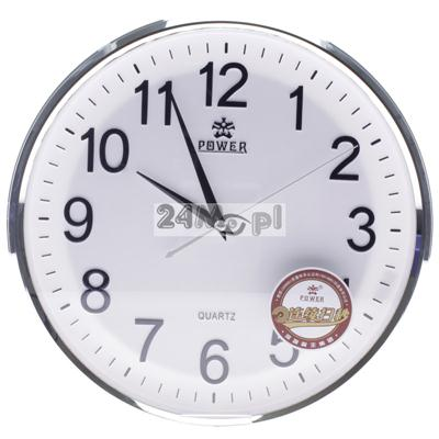 Kamera w zegarze œciennym z funkcjš ZAPISU - jakoœć HD, płynny ruch, pełny dostęp zdalny przez Internet i telefony komórkowe