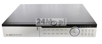 32 - kamerowy rejestrator hybrydowy do kamer AHD [HD i FULL HD], IP [do 5 MPX] oraz analogowych, płynny ruch, pełny dostęp zdalny, wsparcie dla systemów Windows, Android, Apple iOS