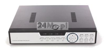 8 - kanałowy cyfrowy rejestrator hybrydowy do kamer IP, AHD oraz analogowych, jakoœć FULL HD, standard ONVIF, polskie MENU, dostęp zdalny z dowolnego miejsca na œwiecie