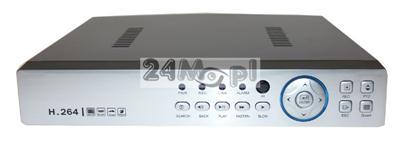 8 - kamerowy rejestrator hybrdyowy - obsługa kamer AHD [1.3 MPX - HD oraz 2.0 MPX - FULL HD], IP oraz analogowych, P2P [praca w chmurze], polskie MENU, dostęp przez Android i iPhone