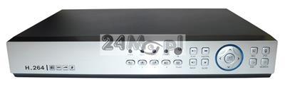 8 - kanałowy rejestrator cyfrowy do kamer, kompatybilnoœć z systemami AHD, CVI, TVI i CVBS, dostępne tryby hybrydowe, polskie MENU, dostęp zdalny przez telefony i tablety, P2P