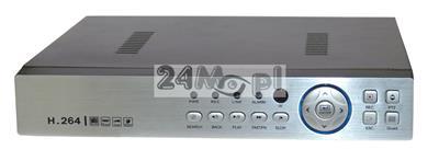 8 - kanałowy rejestrator hybrydowy do kamer AHD, IP i analogowych - obsługa rozdzielczoœci do 5 MPX, płynny ruch, nowoczesna kompresja H.264, pełny dostęp zdalny przez telefony komórkowe i tablety