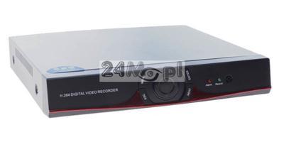 16 - kanałowy rejestrator hybrydowy - do kamer analogowych, AHD [720P oraz 1080P] i IP, standrad ONVIF, P2P [praca w chmurze], polskie MENU, soft GRATIS