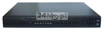 Rejestrator do kamer AHD, CVI, TVI i analogowych [CVBS] - rozdzielczoœć do 5 MPX, płynny ruch, MENU w języku polskim, pełny dostęp zdalny przez Internet, praca w chmurze (P2P)