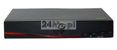 Rejestrator hybrydowy do kamer AHD, IP i analogowych - obsługa rozdzielczoœci HD, FULL HD i 3 MPX, kompatybilnoœć ze standardem ONVIF, funkcja P2P [praca w chmurze]