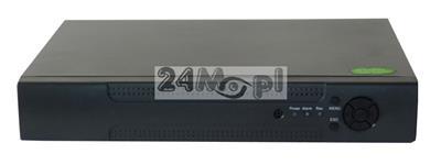8 - kanałowy rejestrator hybrydowy - kompatybilnoœć z kamerami AHD, IP i analogowymi - obsługa rozdzielczoœci do 5 MPX, polskie MENU, praca w chmurze [P2P]
