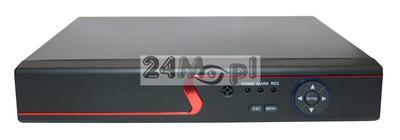 8 - kanałowy rejestrator hybrydowy - obsługa kamer AHD, CVI, TVI, IP i analogowych (CVBS) do 5 MPX, standard ONVIF, dostęp zdalny przez telefony komórkowe i tablety, wsparcie dla systemów Android i Ap