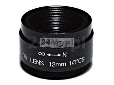 Obiektyw CS 12mm