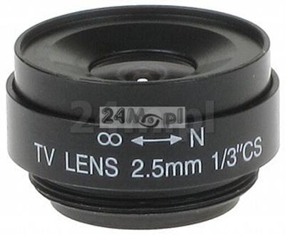 Obiektyw CS 2,5mm