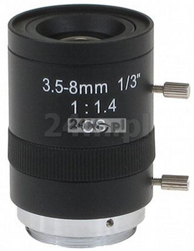 Obiektyw CS 3,5-8mm Manual Iris