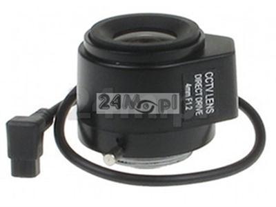 Obiektyw CS 4mm DC Auto Irys